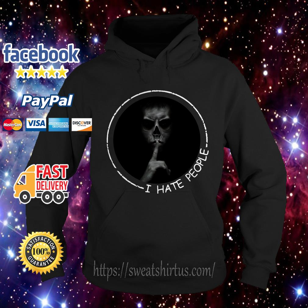 I hate people Most Evil Doctor Hoodie