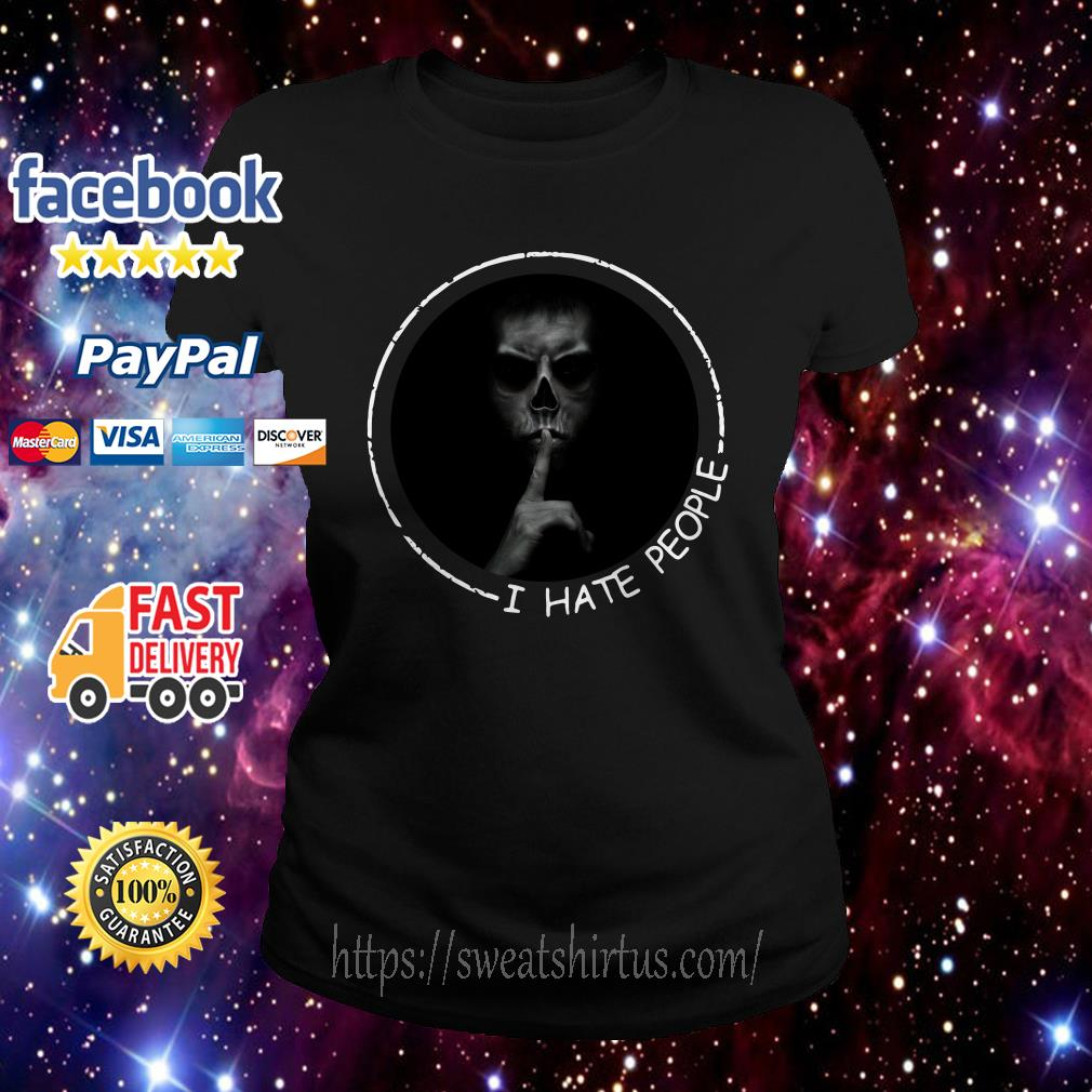 I hate people Most Evil Doctor  Ladies Tee