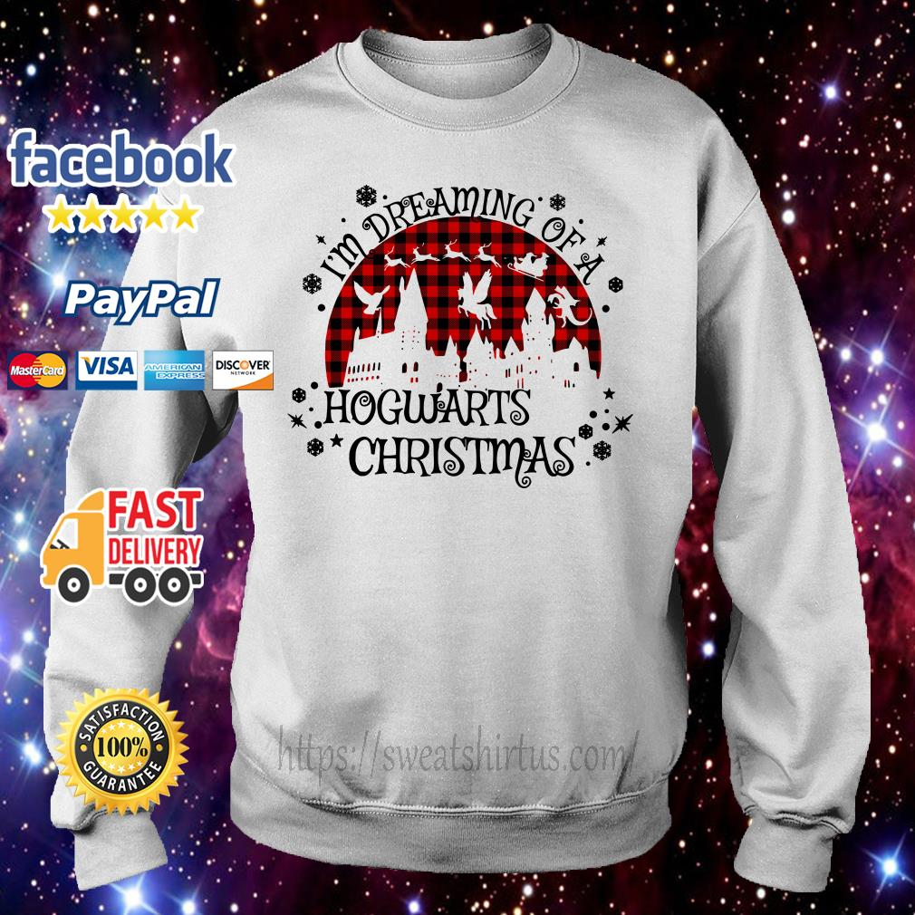 I'm dreaming of a Hogwarts Christmas shirt, sweater