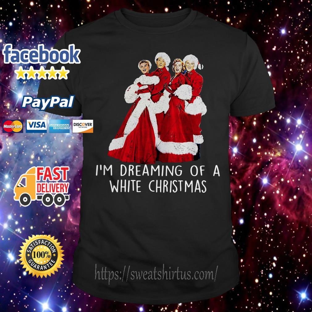 I'm Dreaming of a White Christmas ugly sweat shirt