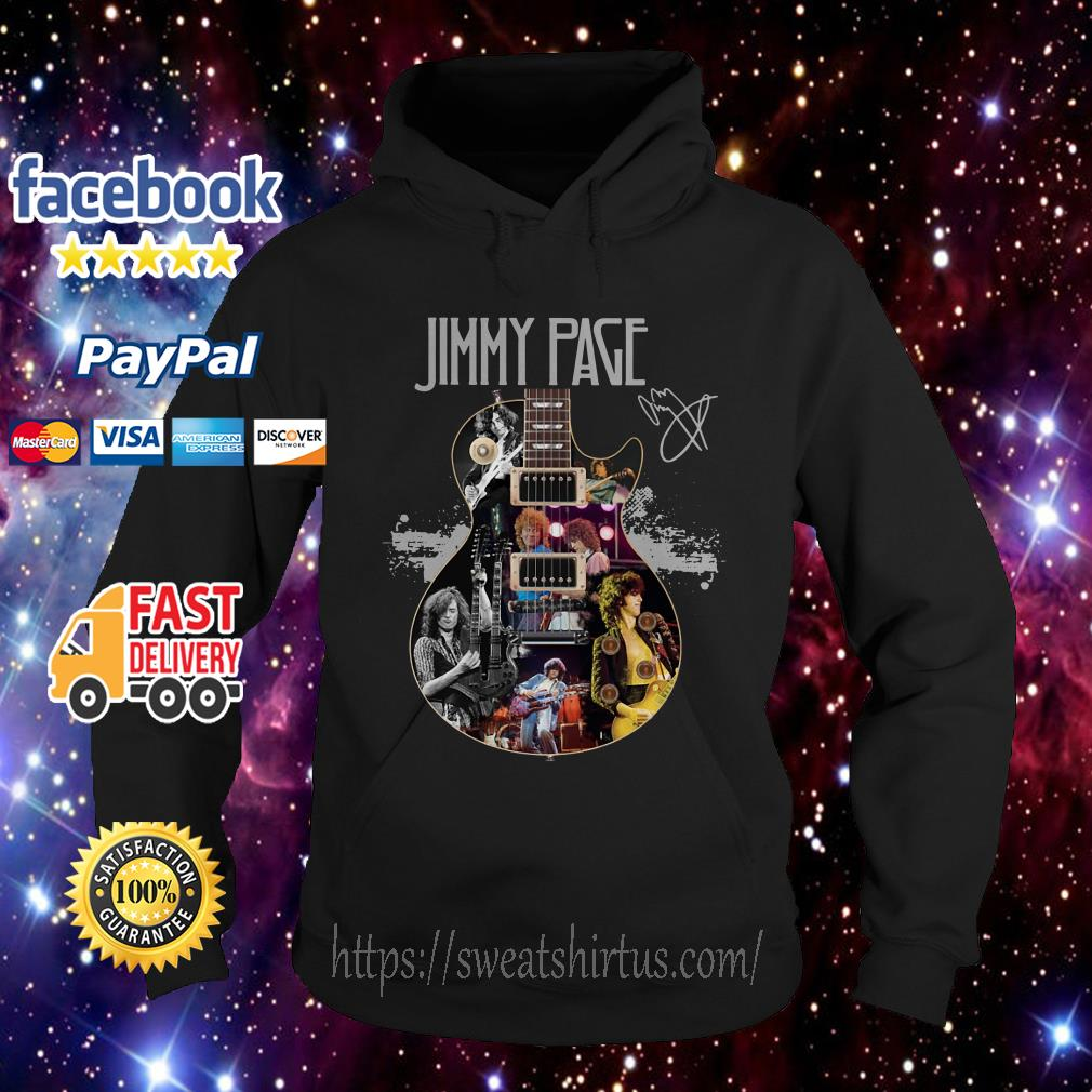 Jimmy Page Guitar signature Hoodie