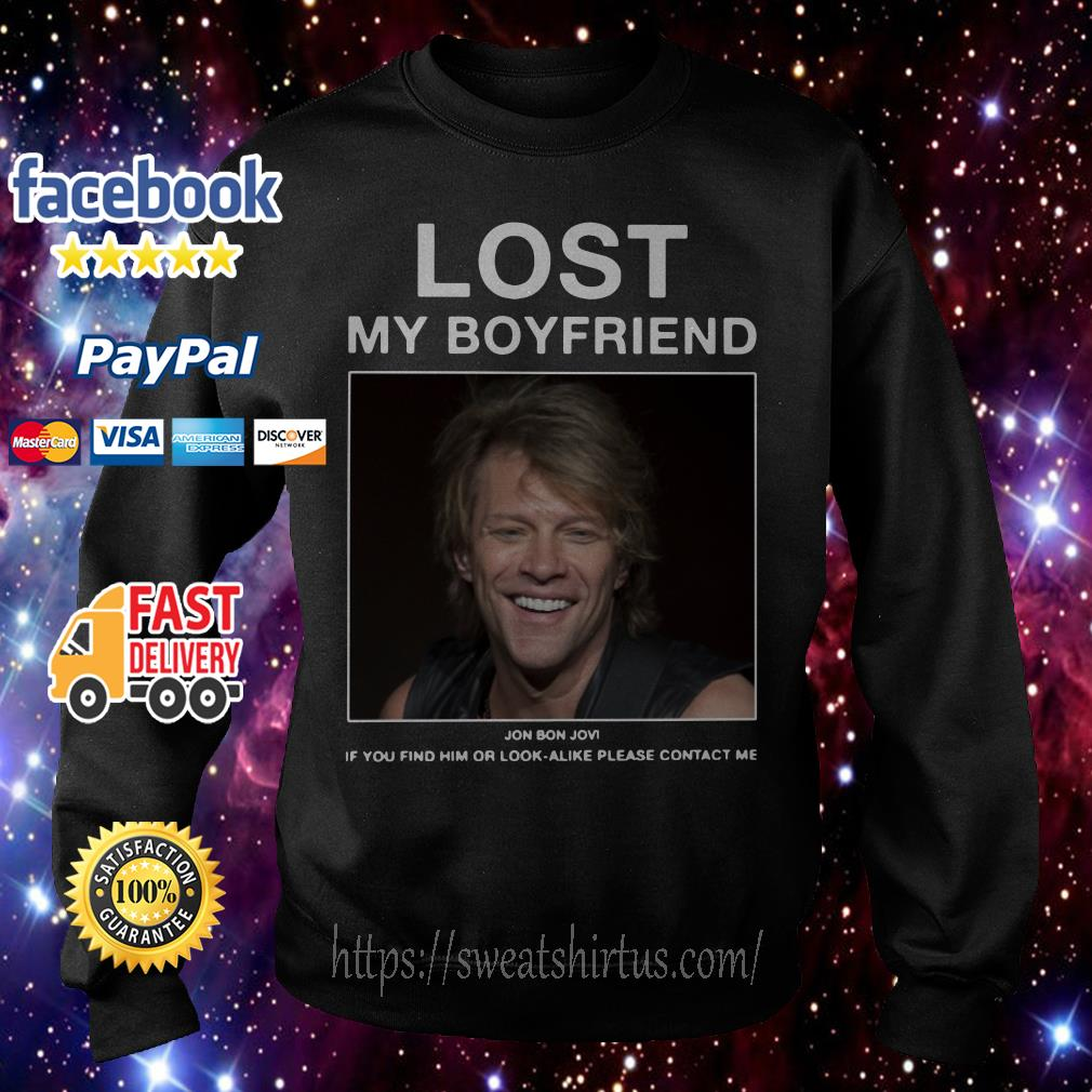 Jon Bon Jovi Lost My Boyfriend Sweater