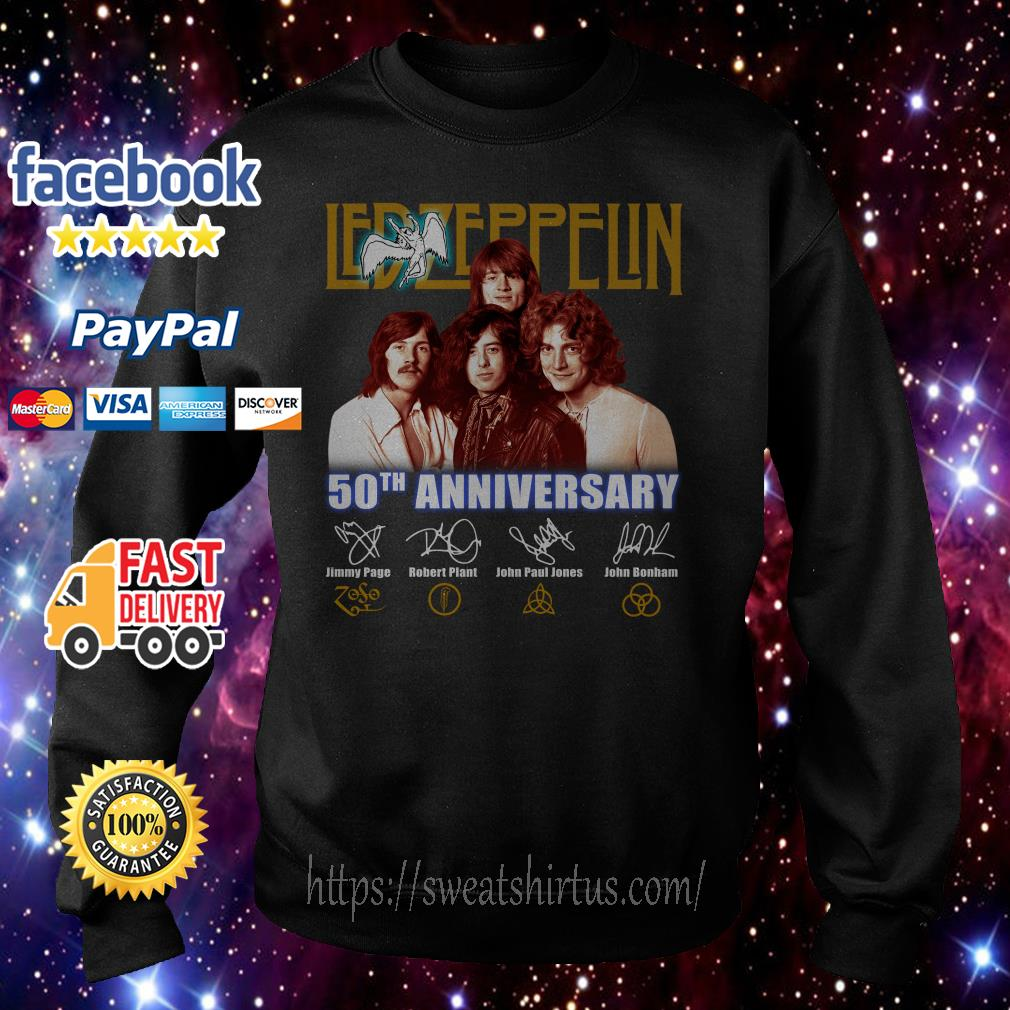 Led Zeppelin 50th Anniversary signature Sweater