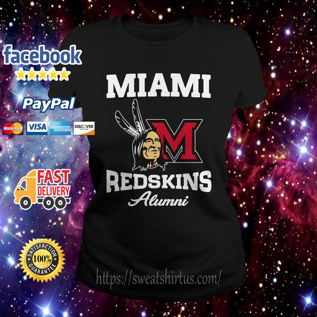 Miami redskins alumni Ladies Tee