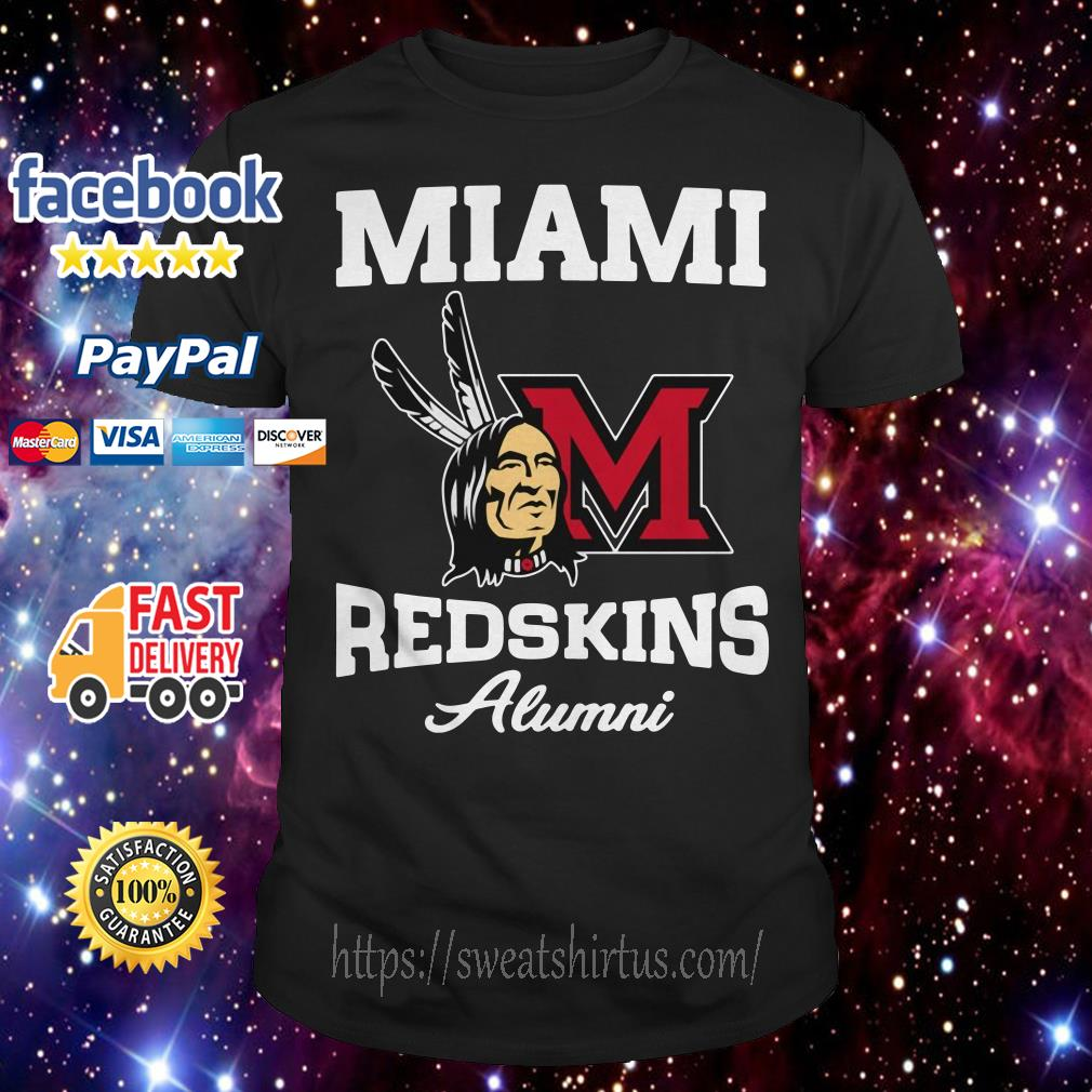 Miami redskins alumni shirt