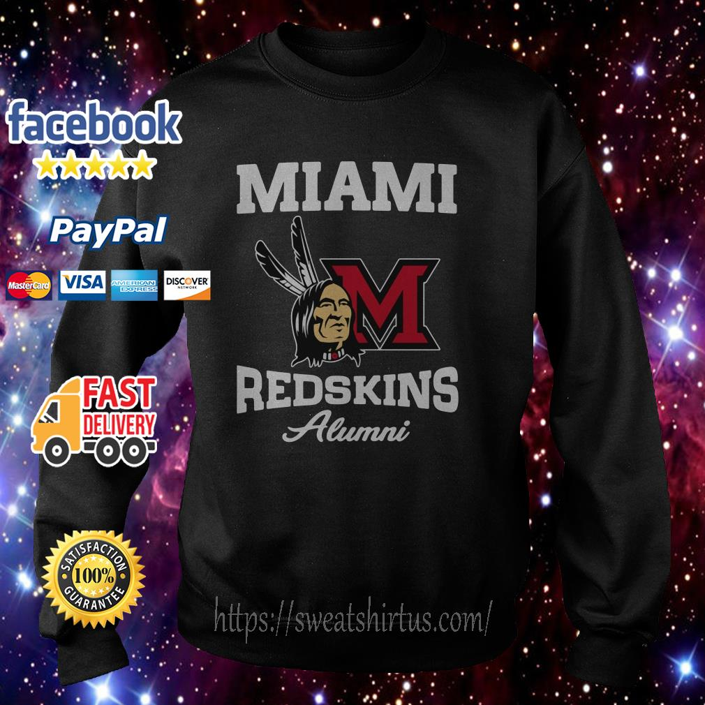 Miami redskins alumni Sweater