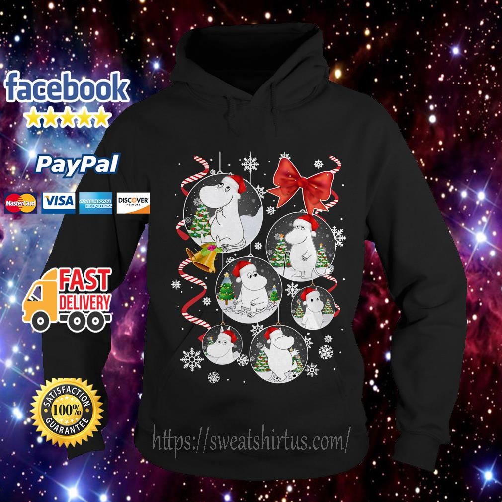 Moomins Santa cartoon Christmas Hoodie