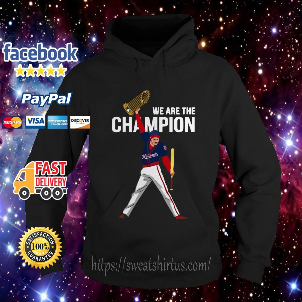 Nationals Freddie Mercury we are the champions Hoodie