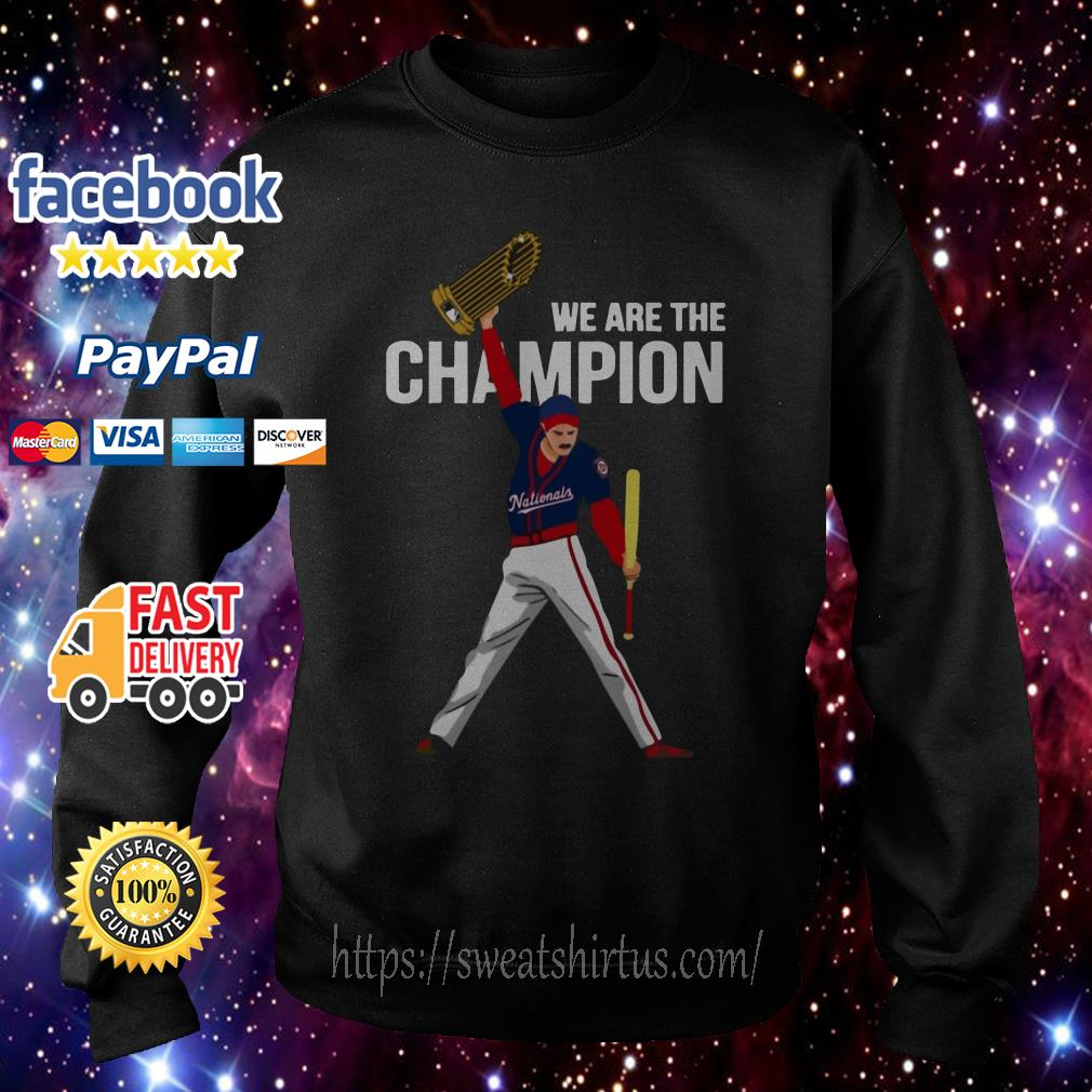 Nationals Freddie Mercury we are the champions Sweater