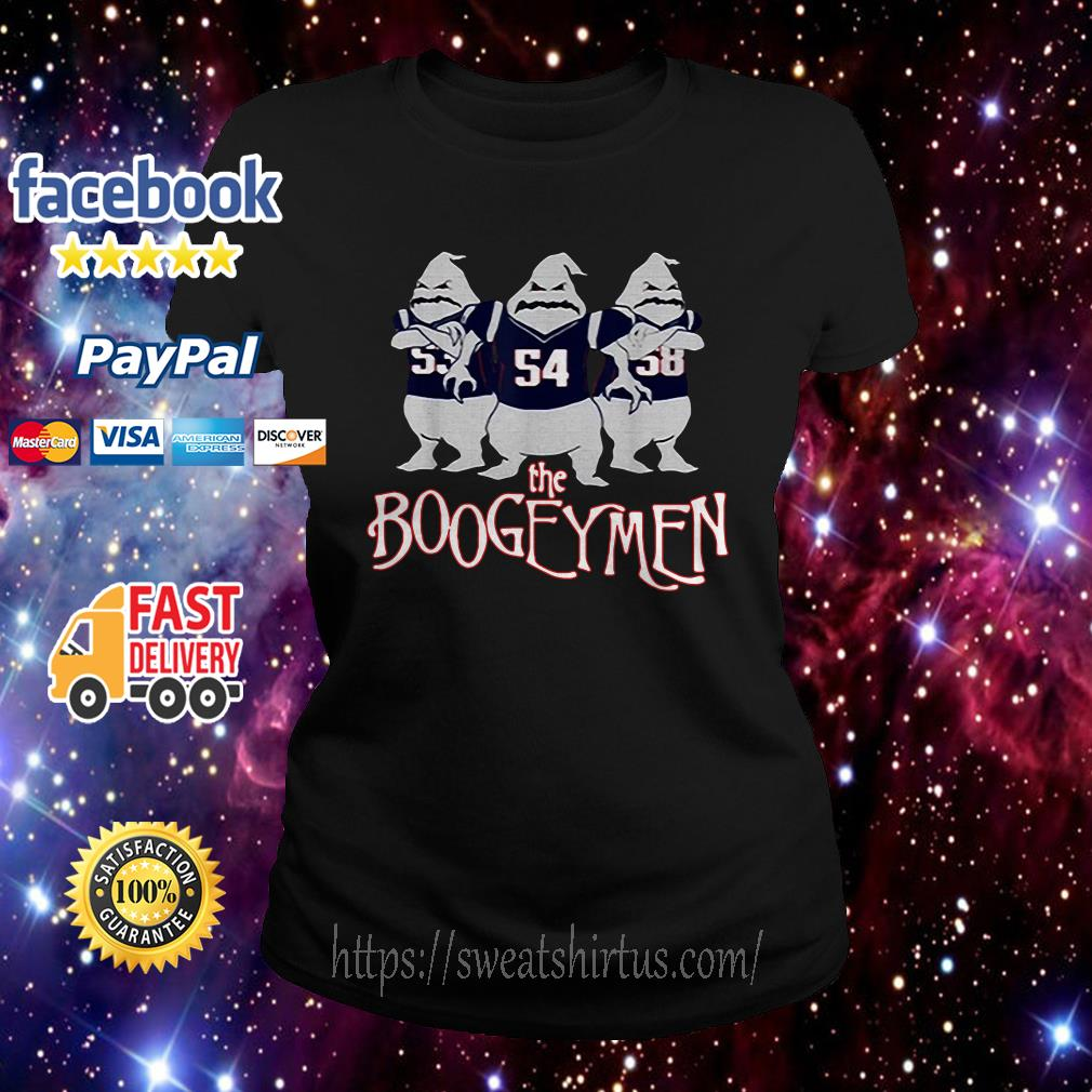 Pretty New England Patriots The Boogeymen Ladies Tee