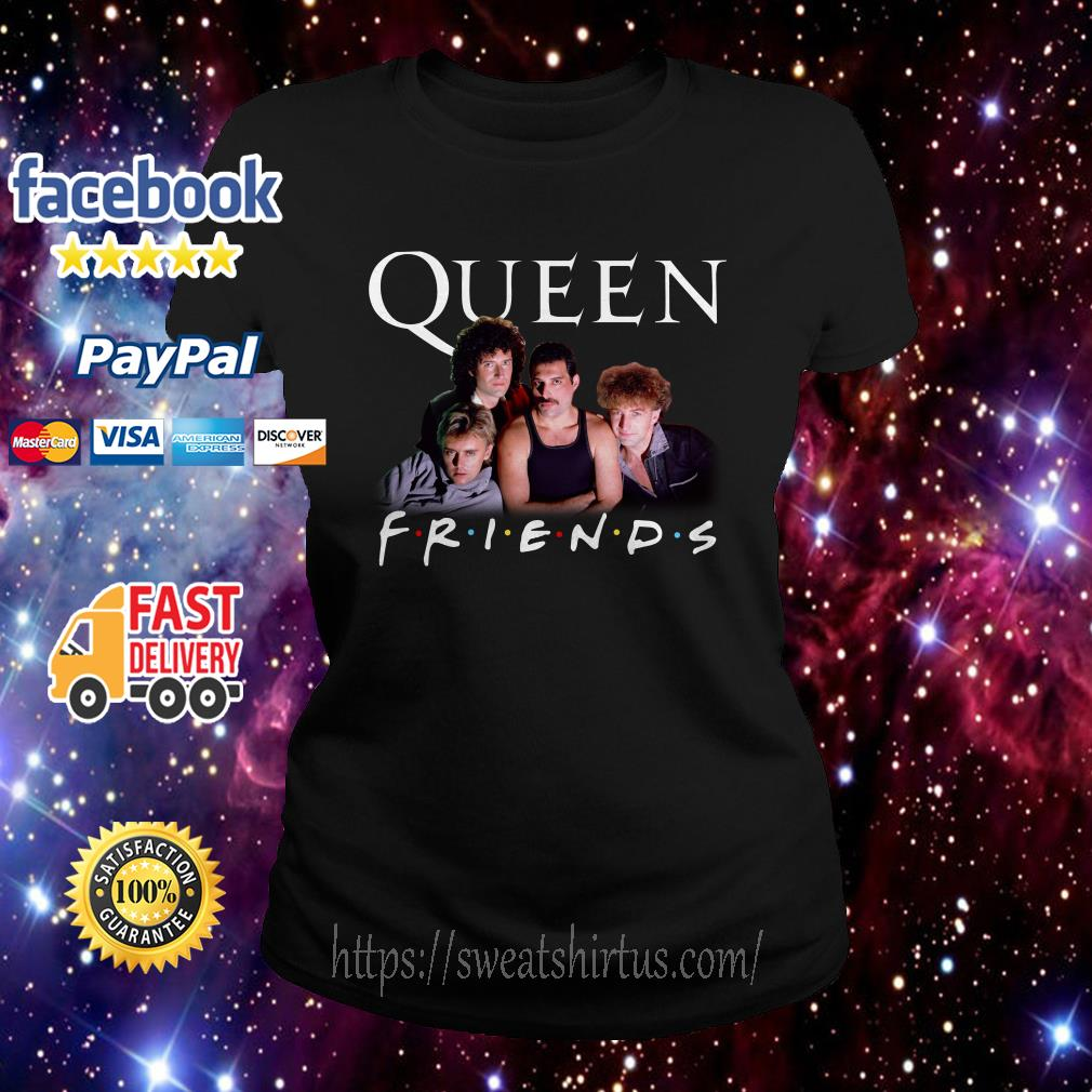 Queen Friends TV show Ladies Tee