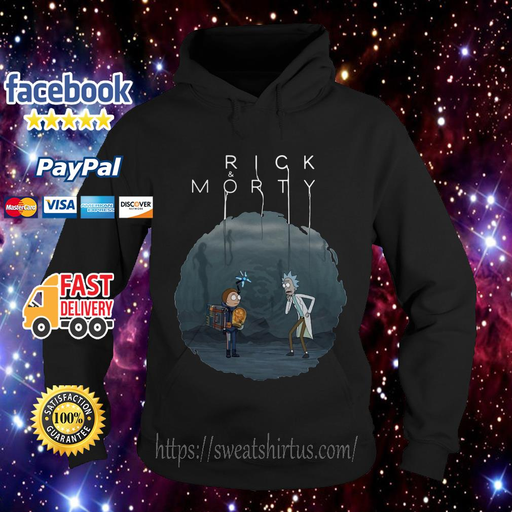 Rick and Morty Ghost Space Hoodie