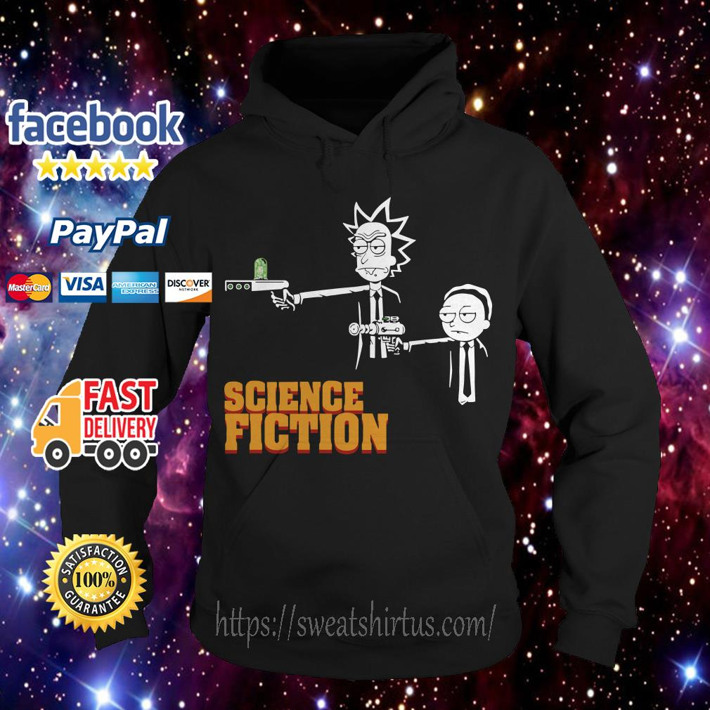Rick and Morty science fiction Hoodie