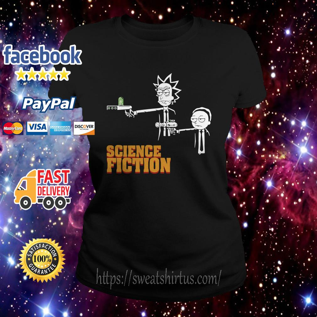 Rick and Morty science fiction Ladies Tee