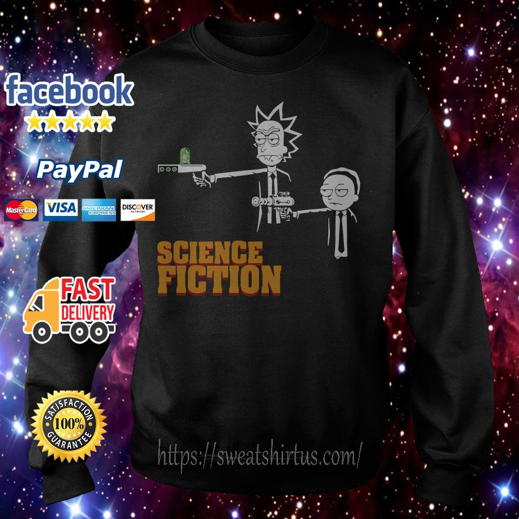 Rick and Morty science fiction Sweater