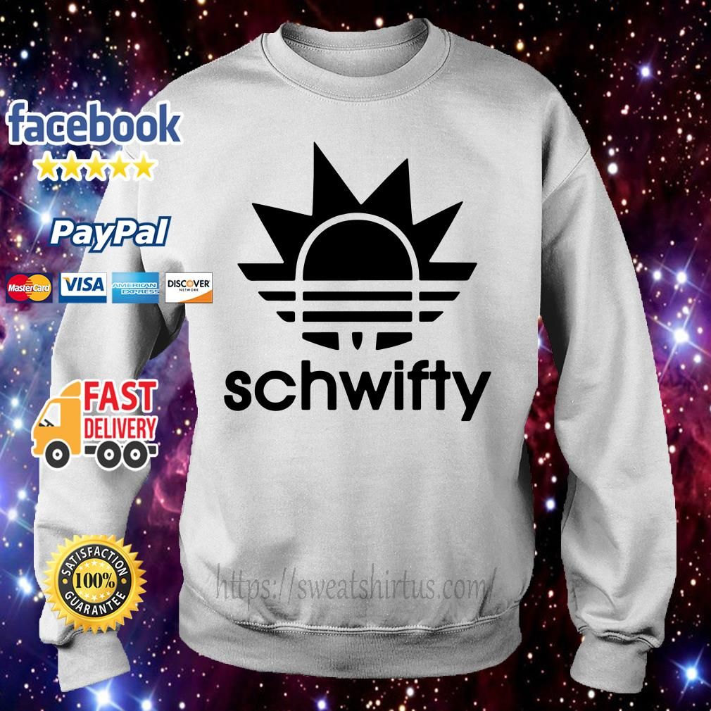 Schwifty Adidas Rick Sanchez Sweater