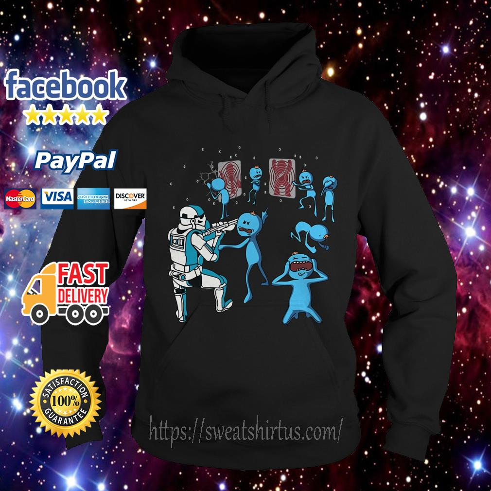 Star War Mr. Meeseeks and Stormtrooper Hoodie
