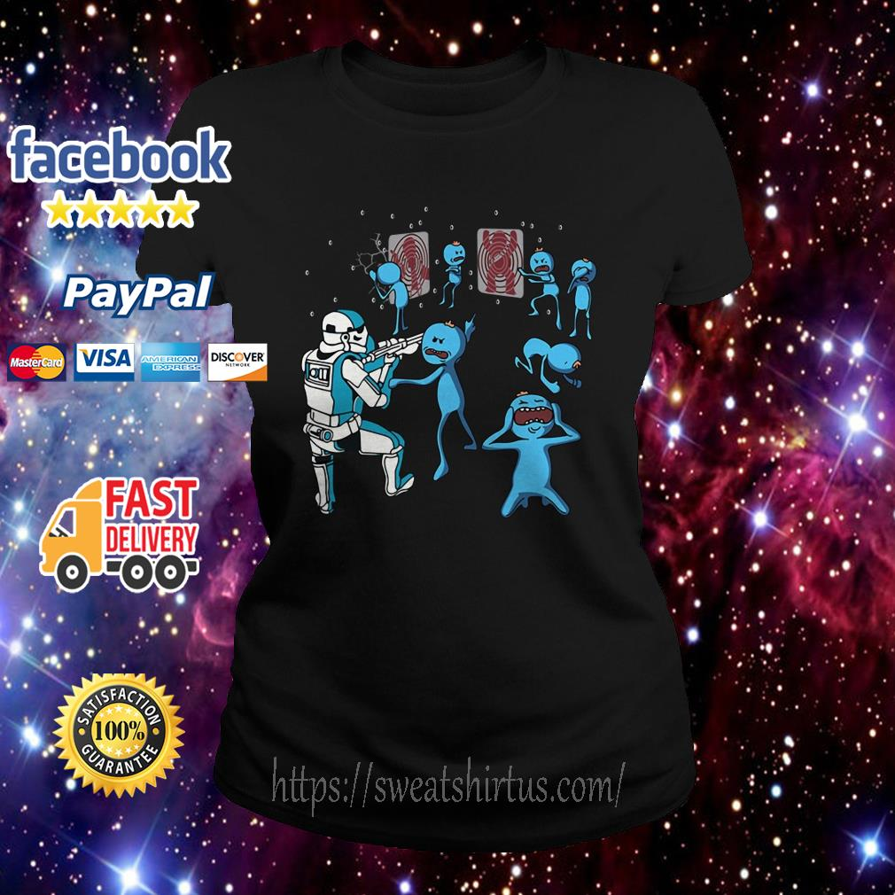 Star War Mr. Meeseeks and Stormtrooper Ladies Tee