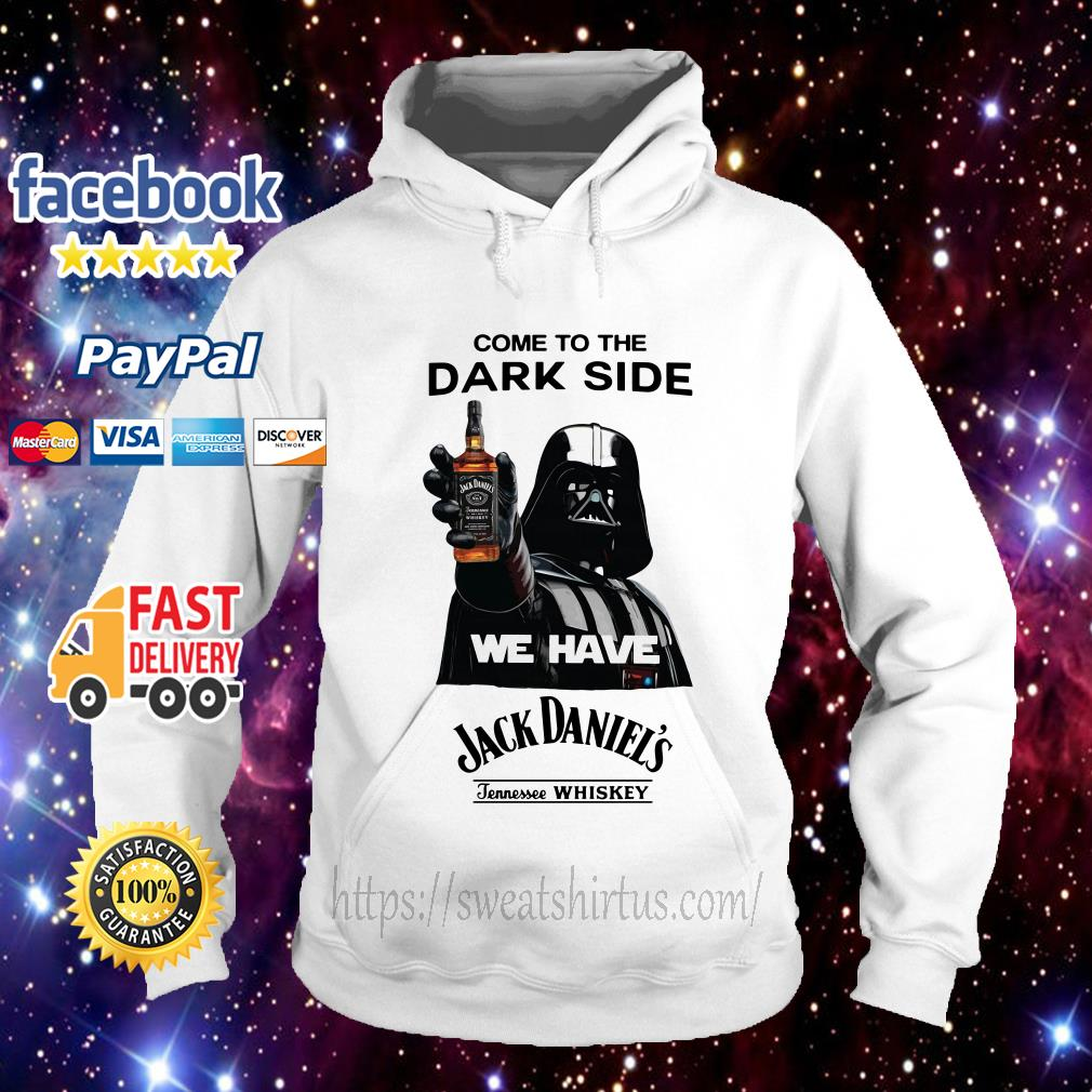Star Wars come to the Dark side we have Jack Daniel's Tennessee Whiskey Hoodie