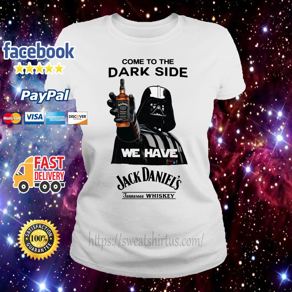 Star Wars come to the Dark side we have Jack Daniel's Tennessee Whiskey Ladies Tee