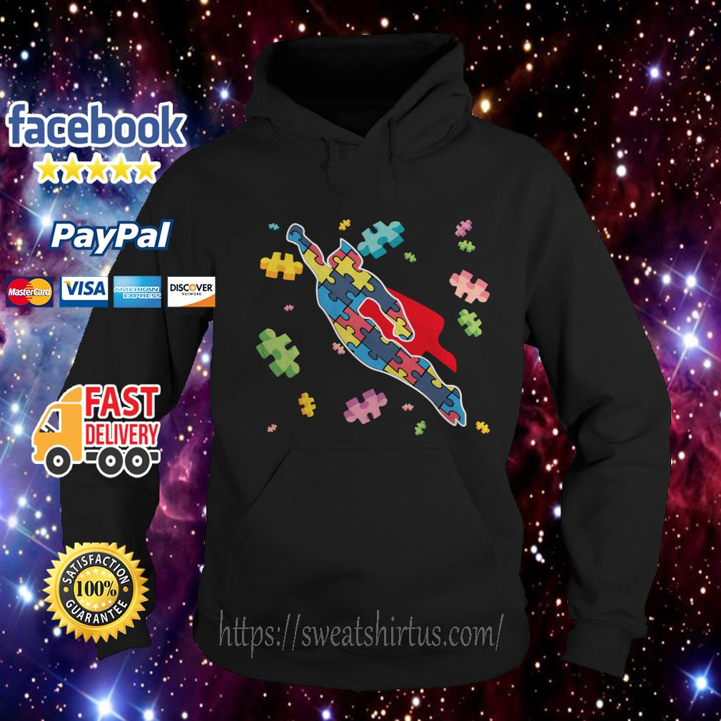 Superman Autism Awareness Hoodie
