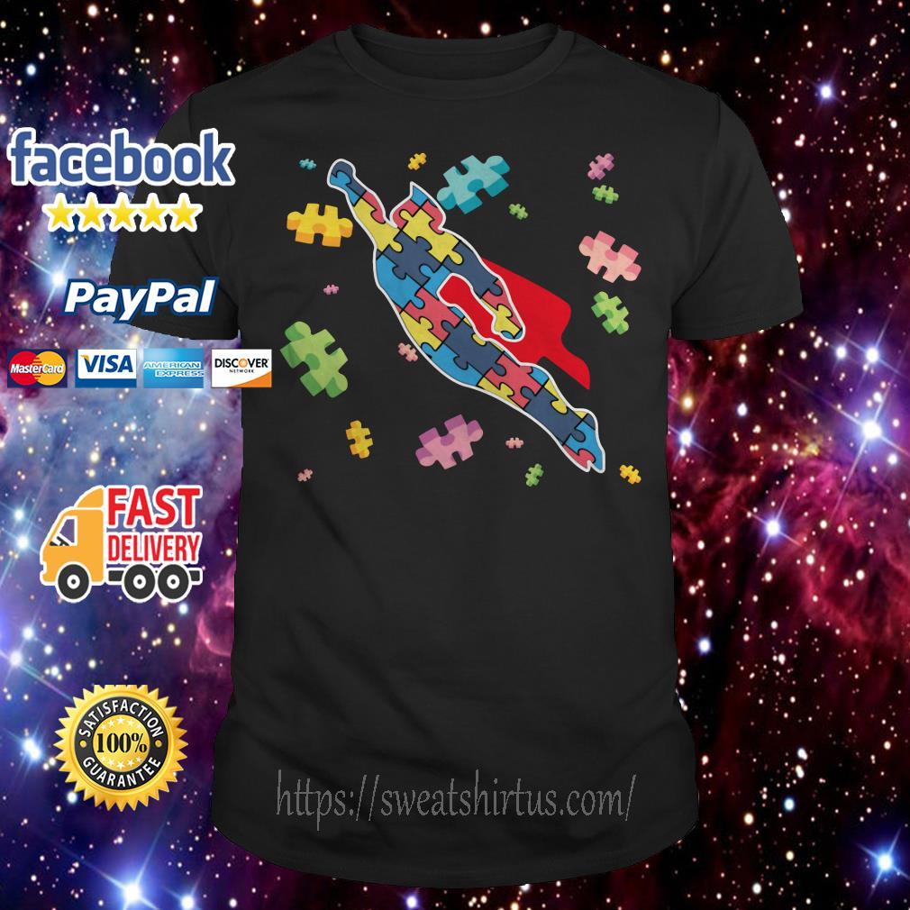 Superman Autism Awareness shirt