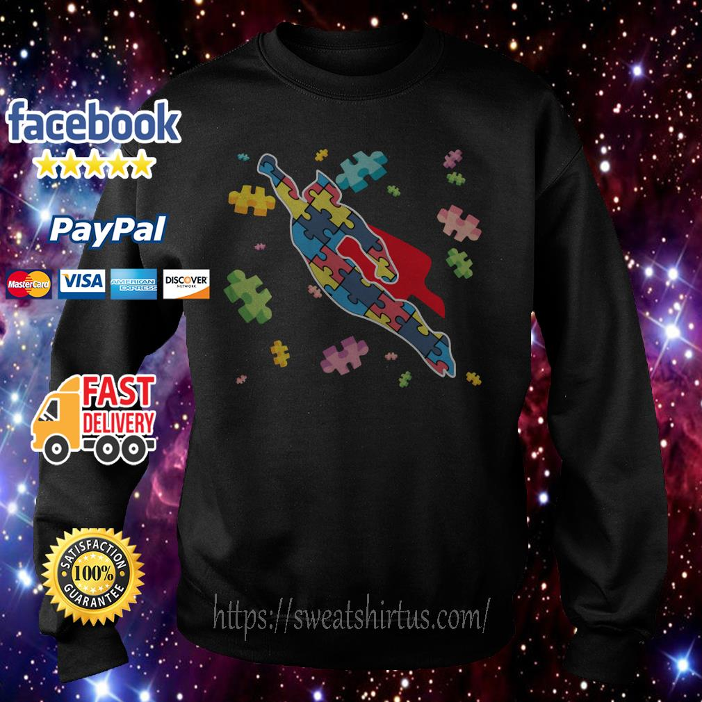 Superman Autism Awareness Sweater