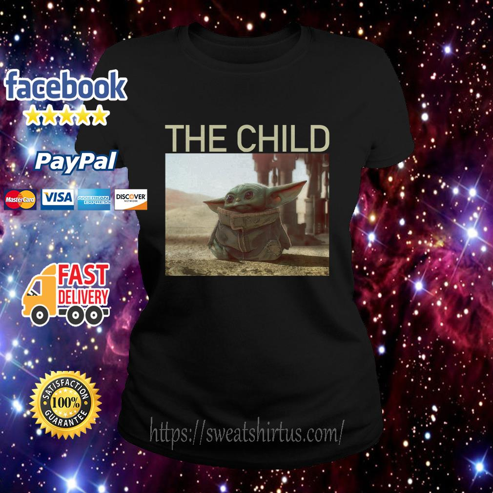The Mandalorian Baby Yoda The Child Ladies Tee
