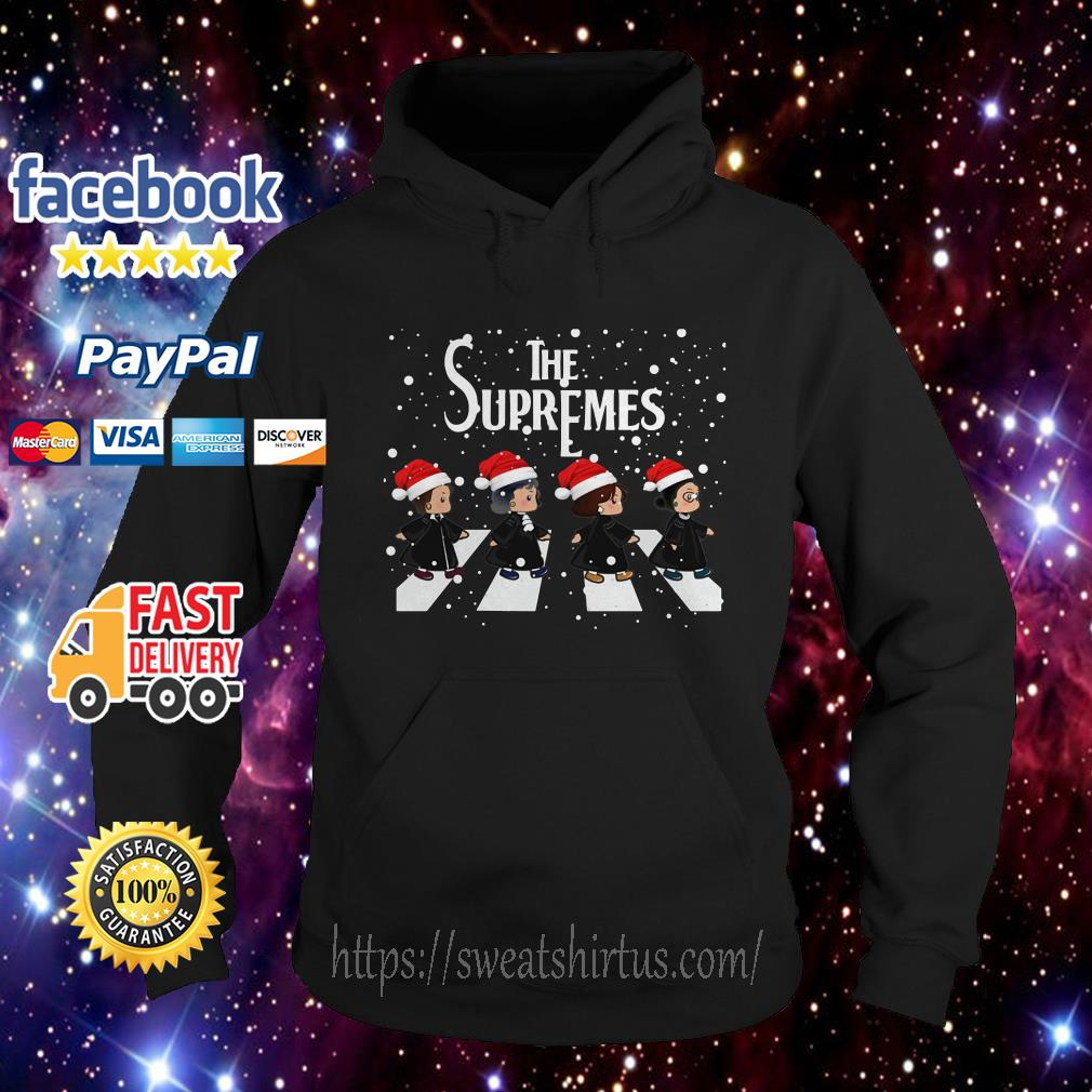 The Supremes The Golden Girls Abbey Road Santa signature Hoodie