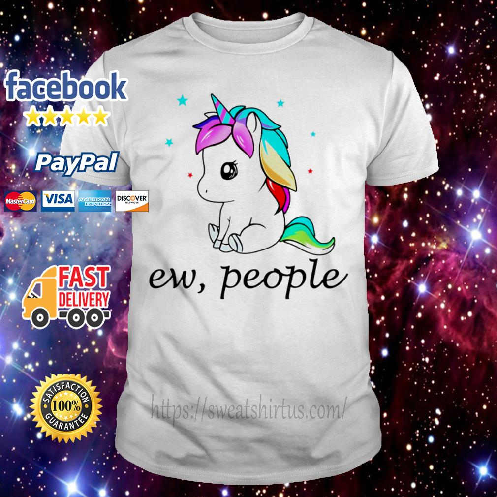 Unicorn LGBT ew people shirt