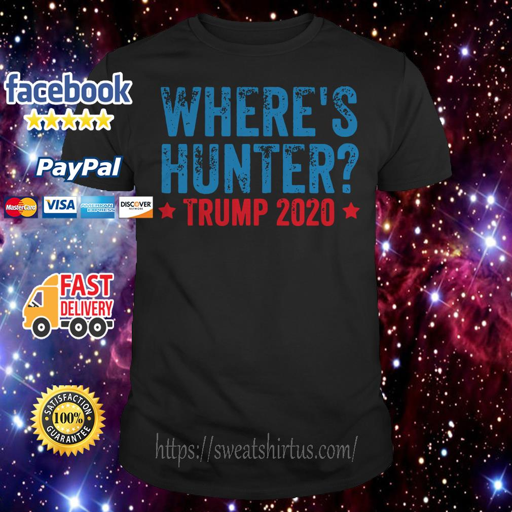 Where's hunter Trump 2020 shirt