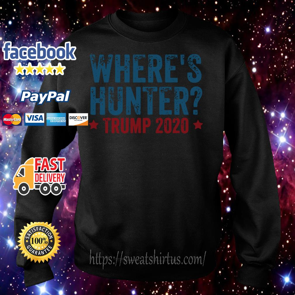Where's hunter Trump 2020 Sweater