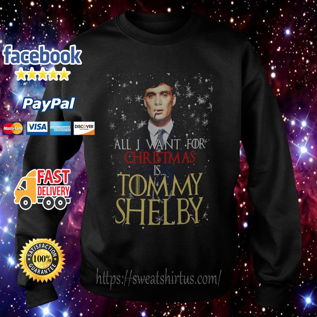 All I want for Christmas is Tommy Shelby shirt, sweater