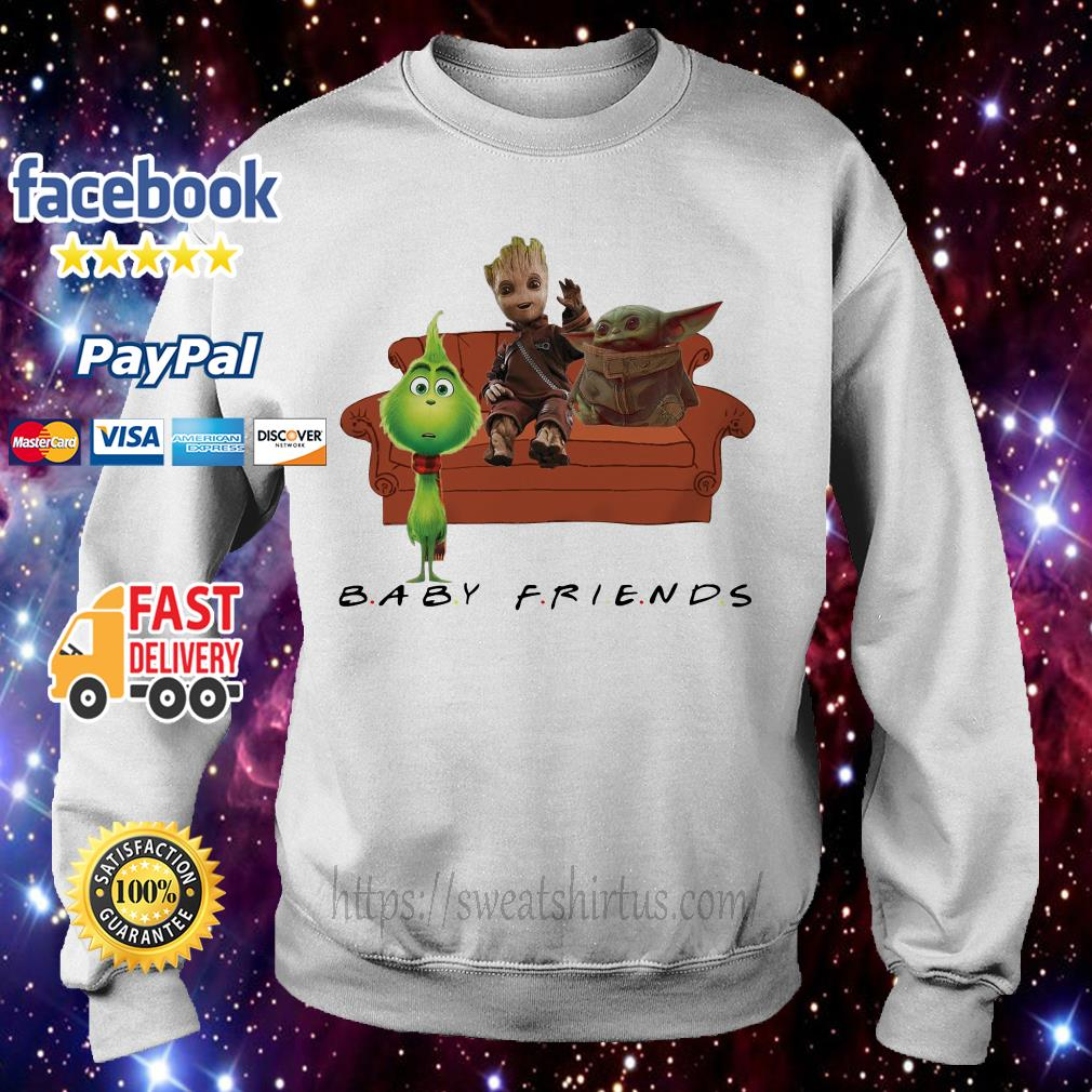 Baby Friends Baby Yoda Baby Grinch and Baby Groot Sweater