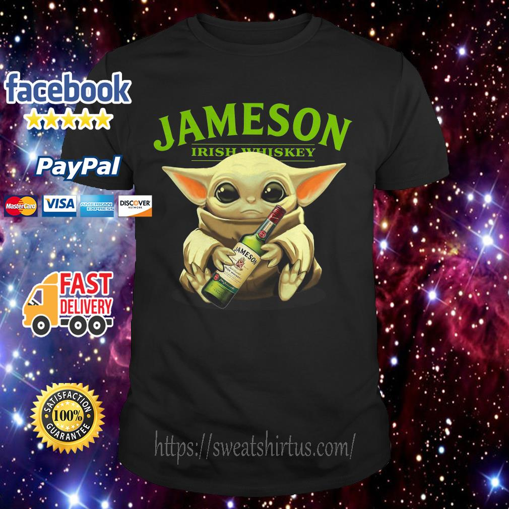 Baby Yoda Jameson Irish whiskey shirt