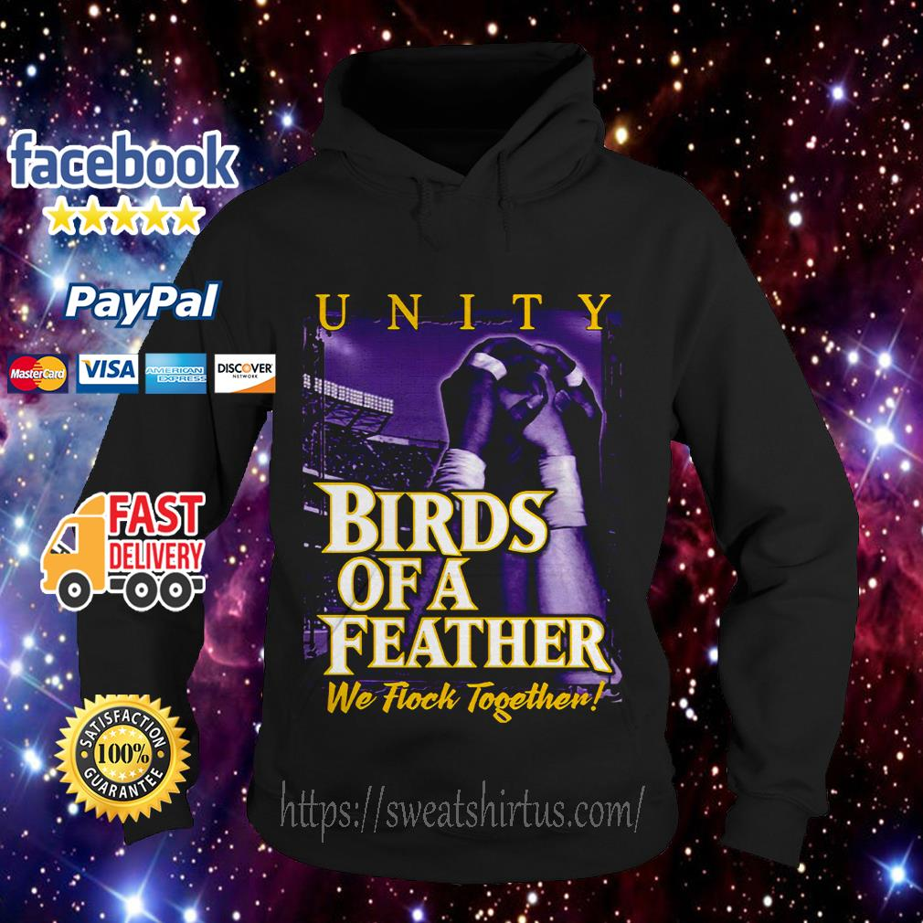 Birds of a Feather we flock together Hoodie