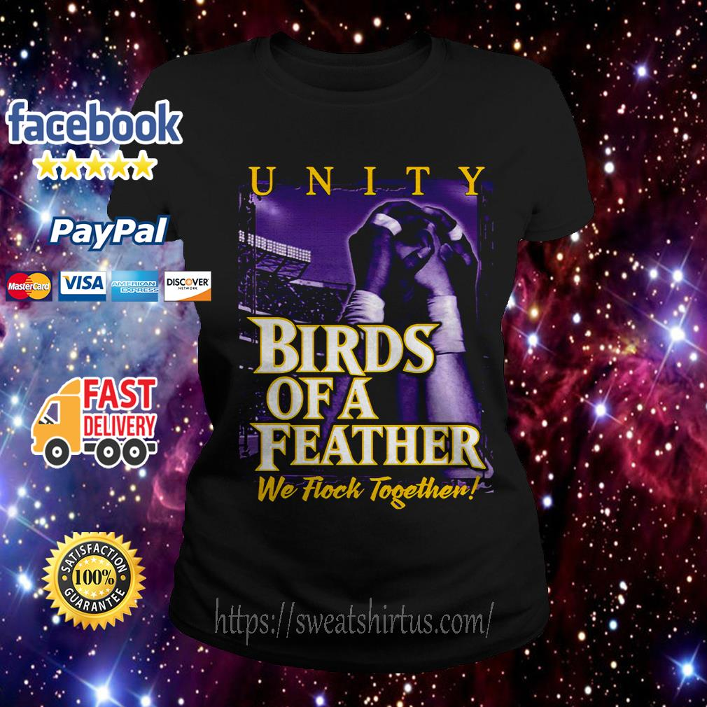 Birds of a Feather we flock together Ladies Tee