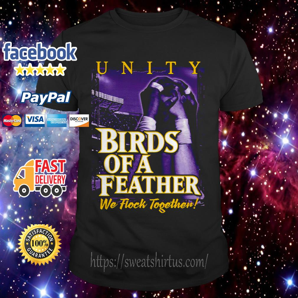 Birds of a Feather we flock together shirt