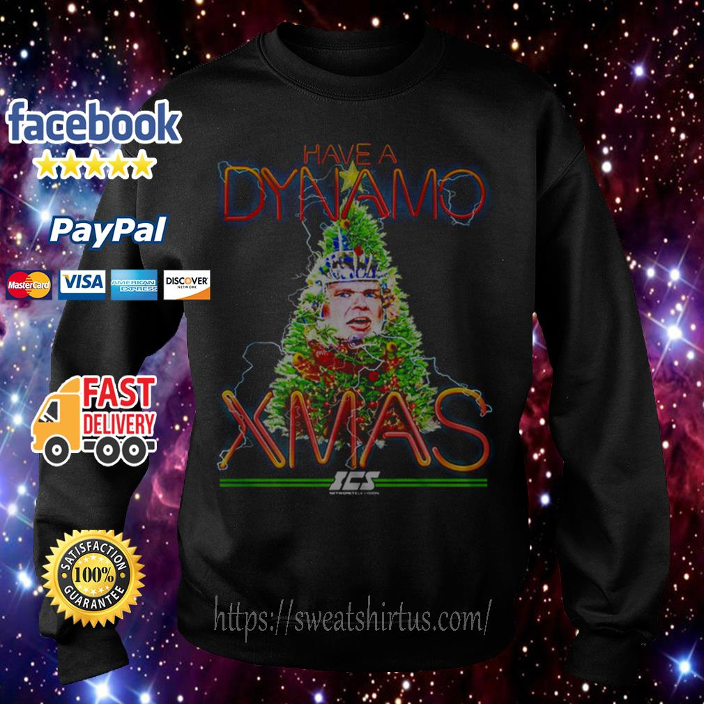 Christmas Have a Dynamo Xmas ICS Running Man shirt, sweater