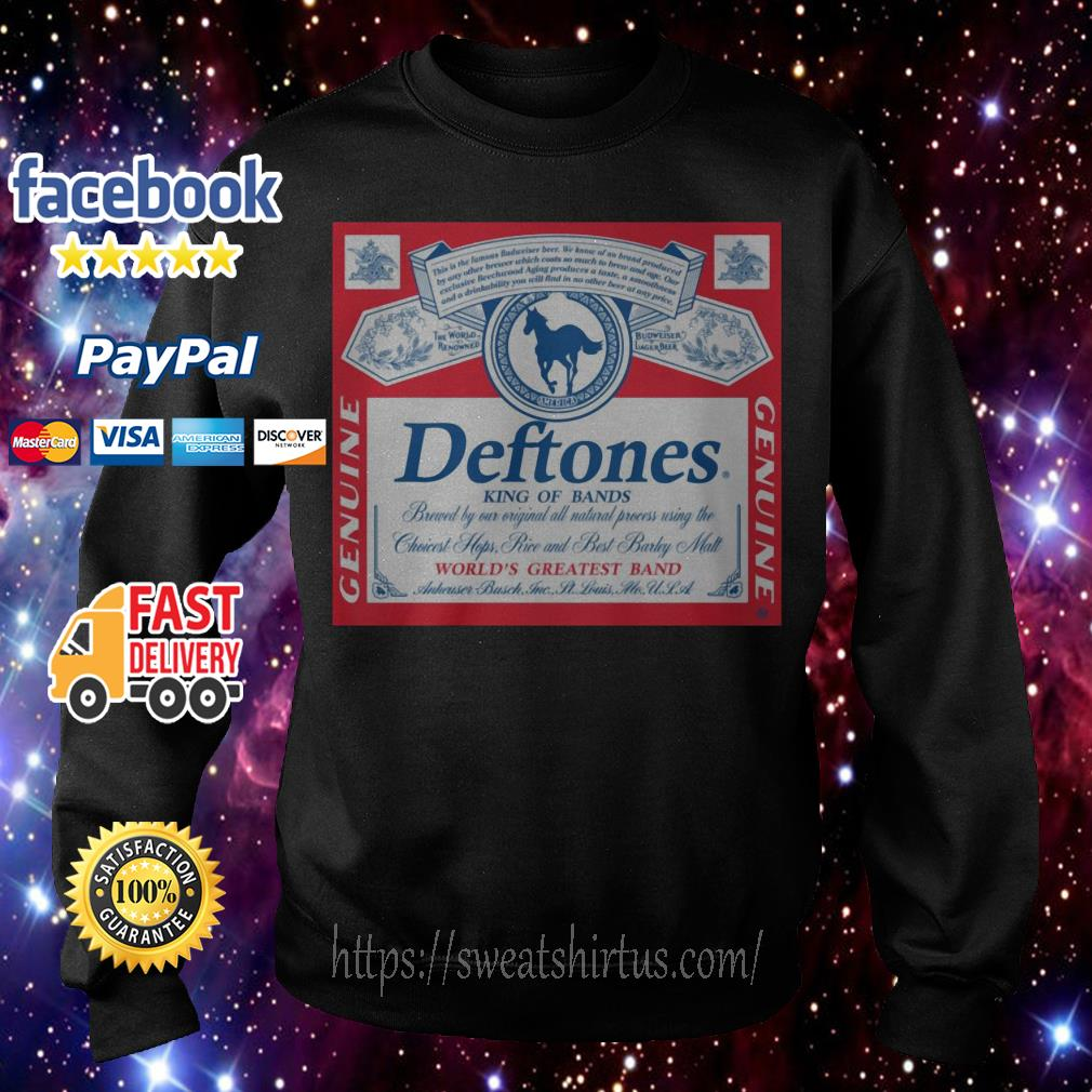 Deftones king of brands world's greatest band Sweater