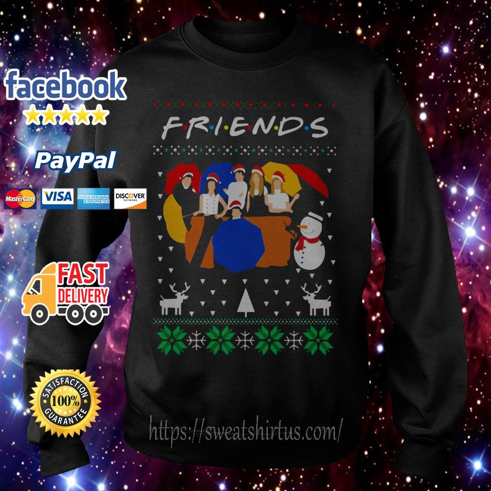 Friends TV show ugly Christmas shirt, sweater