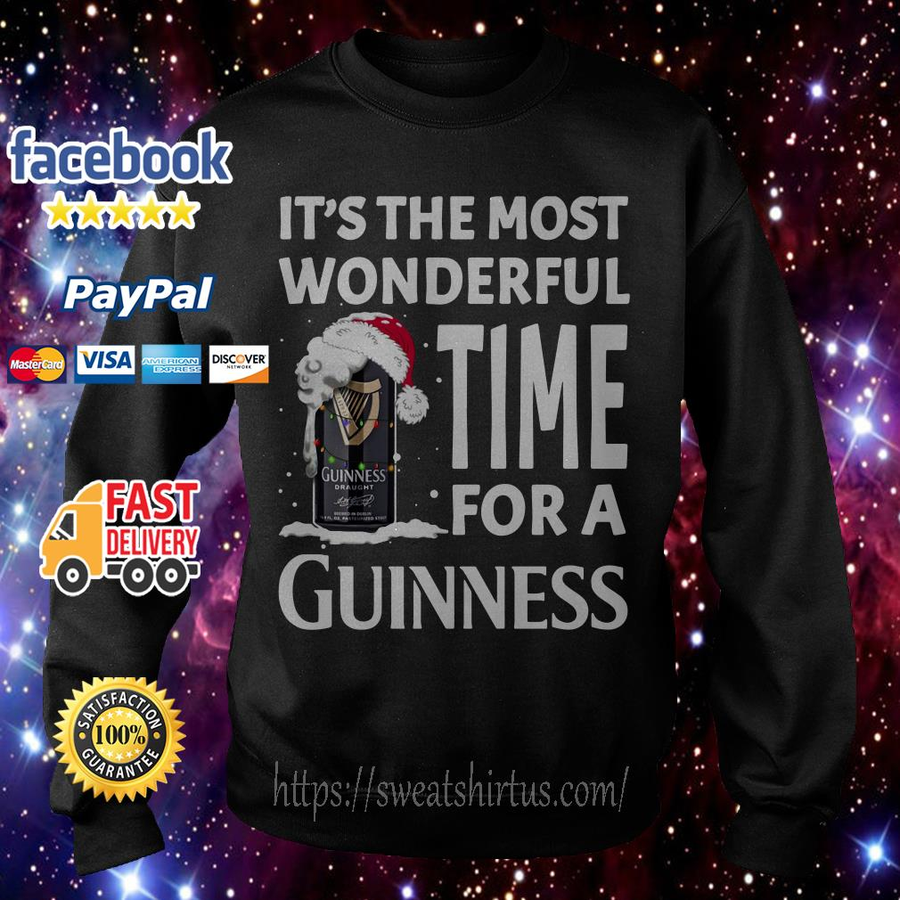 It's the most wonderful time for a Guinness Christmas shirt, sweater