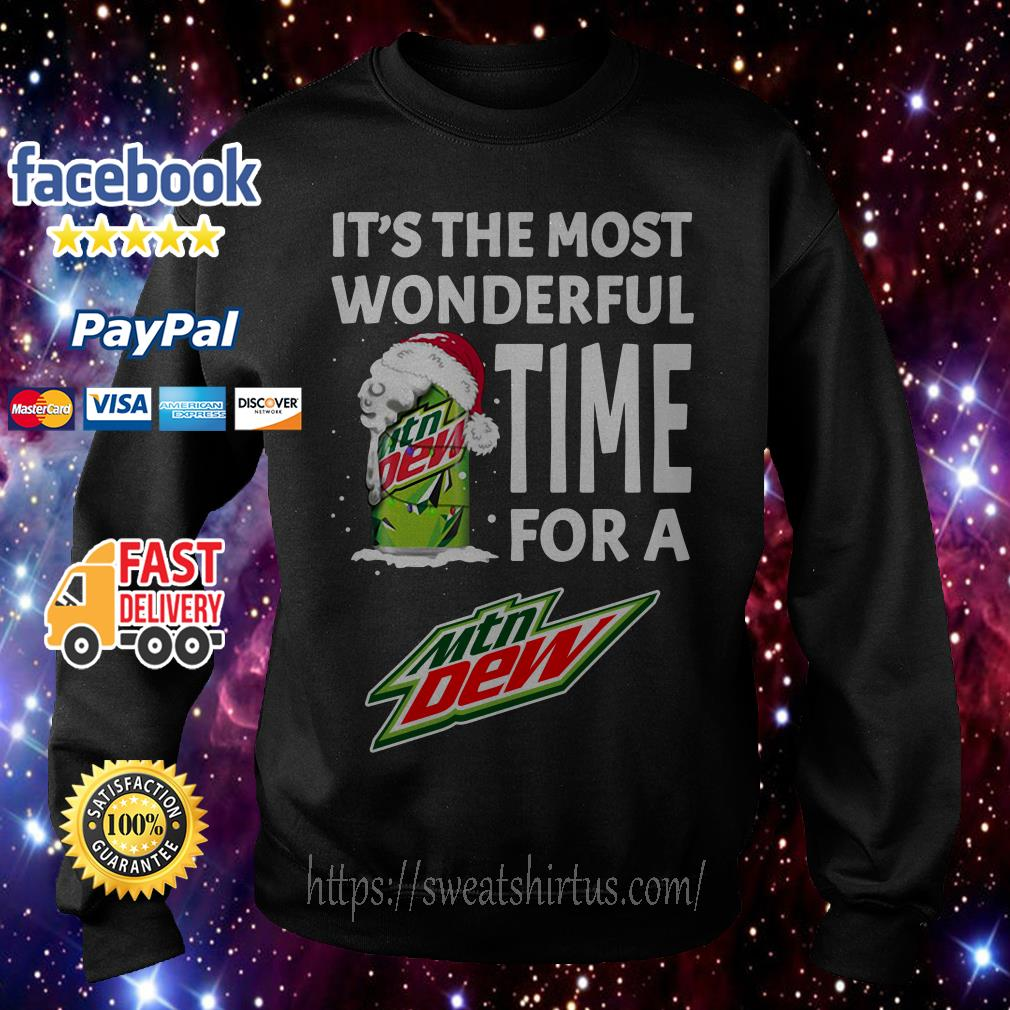 It's the most wonderful time for a Mtn Dew Christmas shirt, sweater