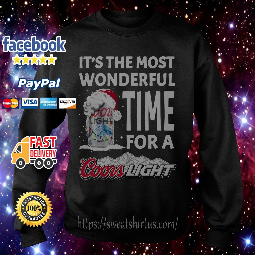 It's the most wonderful time for a Coors Light Christmas shirt, sweater