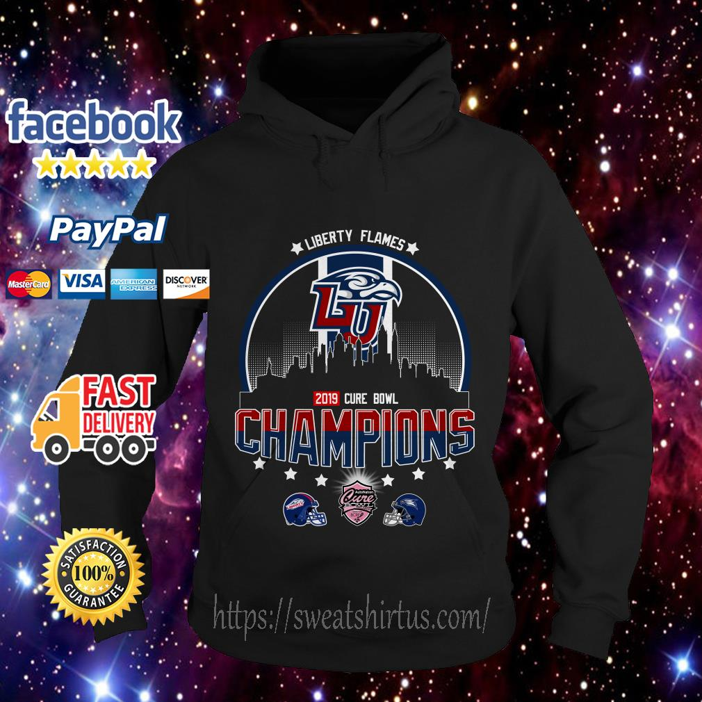 Liberty Flames Champions Cure Bowl 2019 Hoodie
