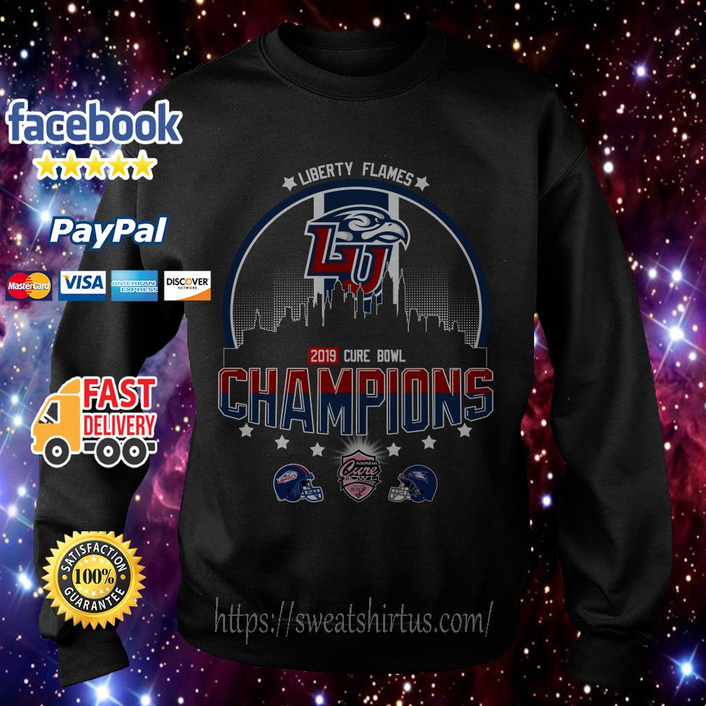 Liberty Flames Champions Cure Bowl 2019 Sweater