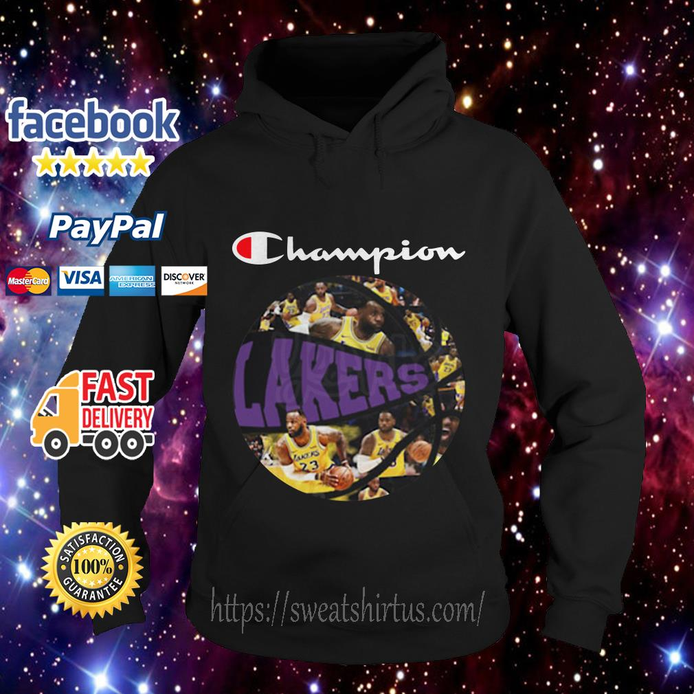 Los Angeles Lakers Champion Players Ball Hoodie