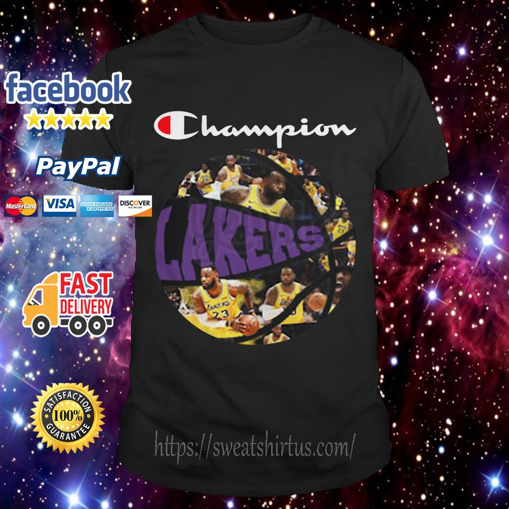 Los Angeles Lakers Champion Players Ball shirt