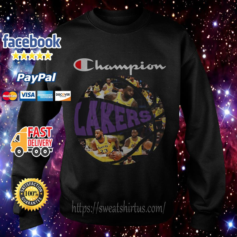 Los Angeles Lakers Champion Players Ball Sweater
