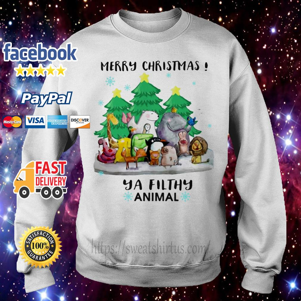 Merry Christmas ya filthy animal shirt, sweater
